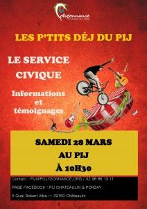 Affiche service civique