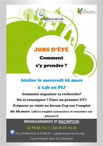 Affiche Jobs d'été 02-03-2016