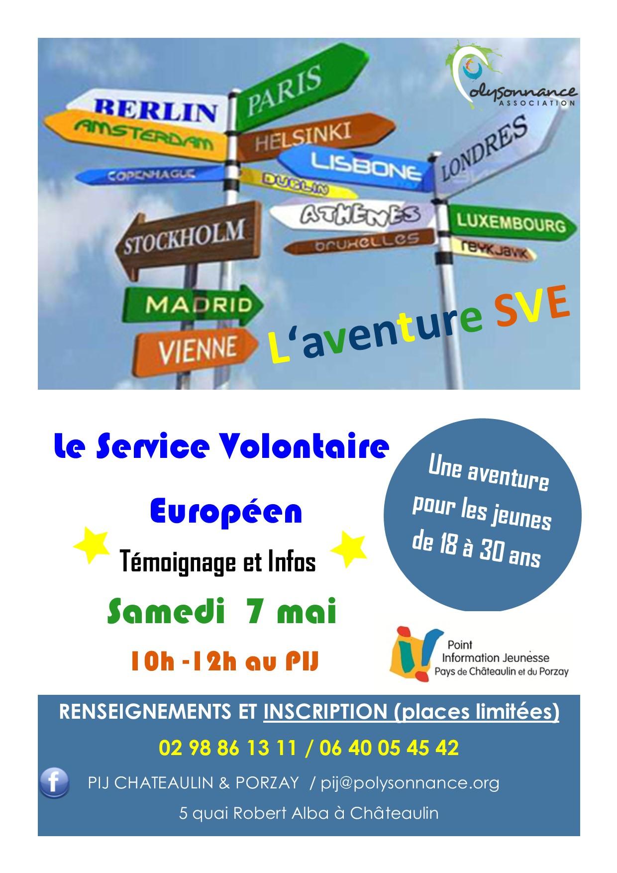 Atelier sur le Service Volontaire Européen : une aventure à vivre pour les 18-30 ans