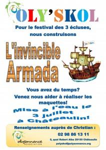 Affiche Poly'Skol invincible Armada