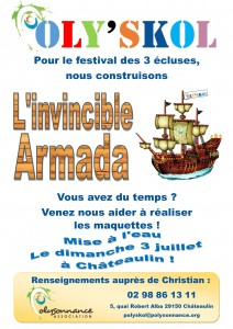 Affiche Poly'Skol invincible Armada2