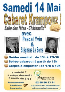 Affiche cabaret Krampouz