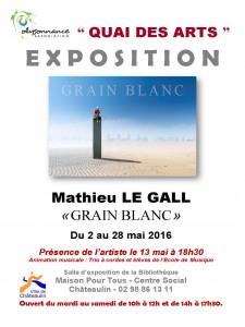 ORIGINAL AFFICHE  Mathieu