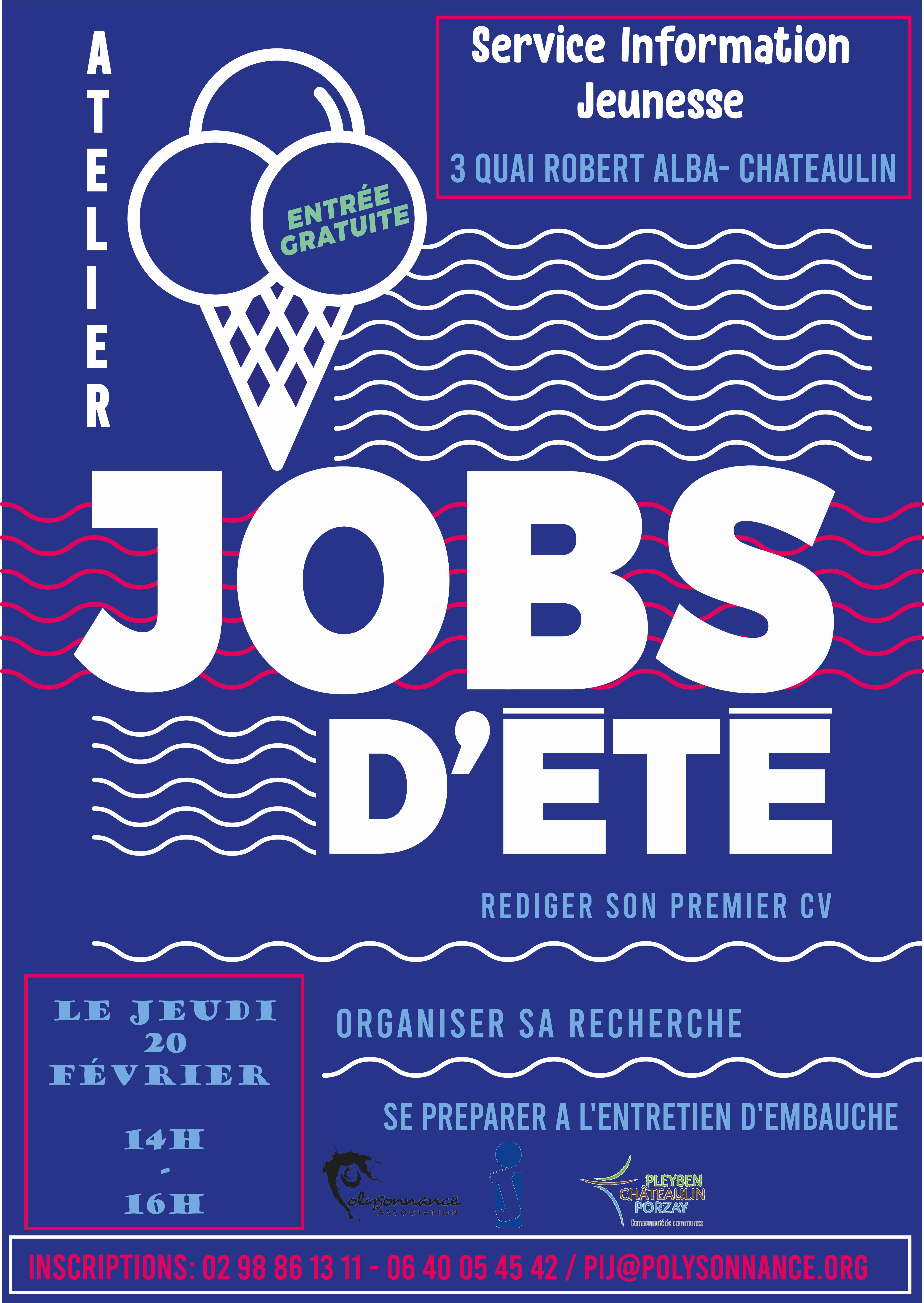 ATELIER «Jobs d'été»