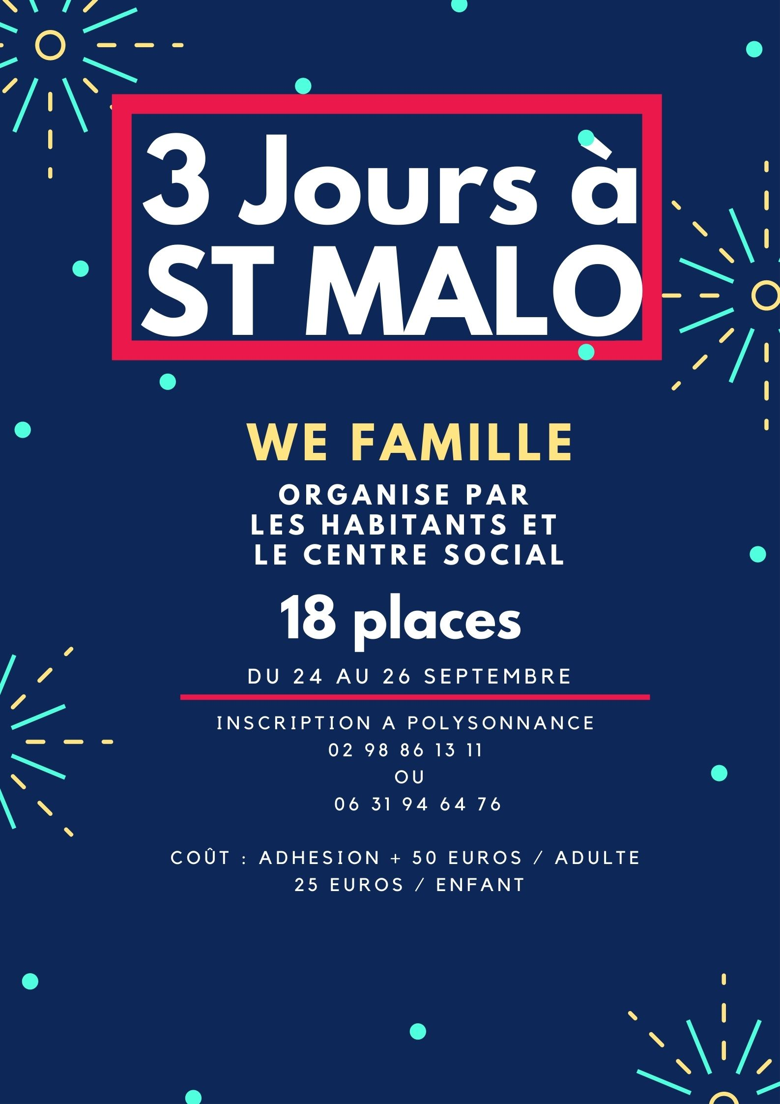 Weekend à Saint-Malo
