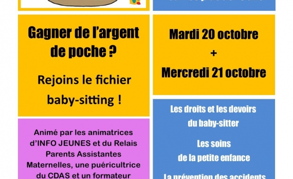 Atelier Baby-Sitting Châteaulin