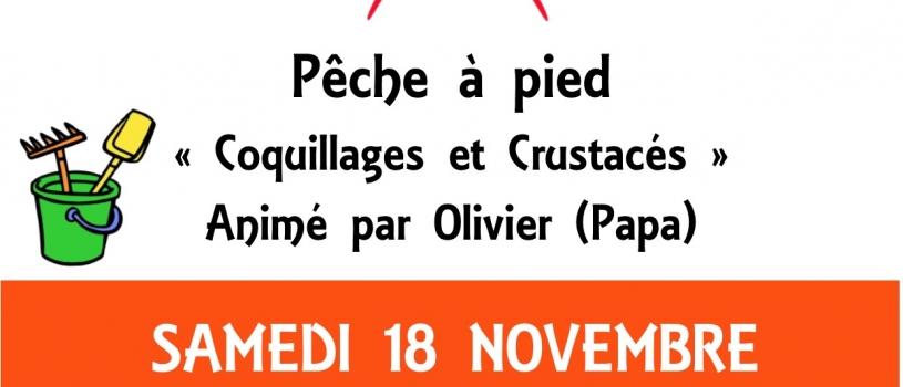 Atelier Enfant Parent Samedi 18 novembre