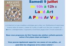 ATELIER ENFANTS/PARENTS : SAMEDI 9 JUILLET A PORS AR VAG