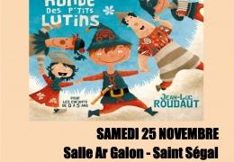 «10 ANS DU RAM» : «La Ronde des P'tits Lutins» pour les 0/5 ans SAMEDI 25 NOVEMBRE à 10h30
