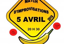 THEATRE : MATCH D IMPROVISATION THEATRALE VENDREDI 5 AVRIL à 20H30 au CLOÎTRE SAINT THEGONNEC