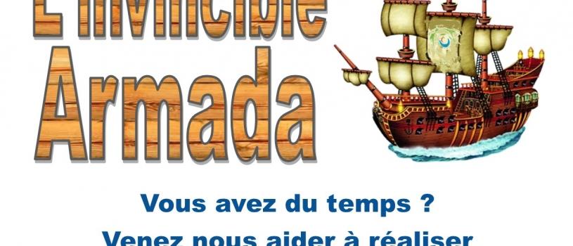 Dimanche 3 juillet, l'invincible Armada débarque