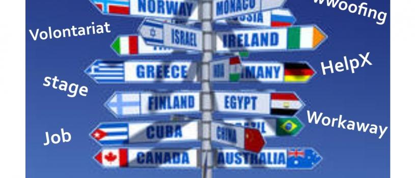 PIJ : Atelier » Partir à l'étranger» Samedi 14 octobre de 10h à 12h au PIJ