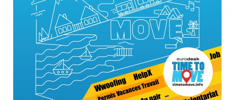 Atelier Time to Move ! Samedi 20 octobre 10h-12h