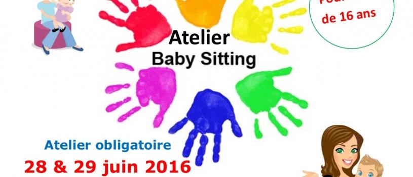 Rejoindre la liste des baby-sitters du PIJ ? Un atelier les 28 et 29 juin!