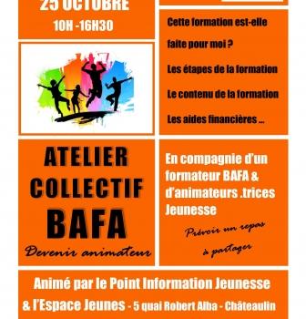 Atelier «Tout savoir sur le BAFA!» Jeudi 25 octobre 10h-16h30