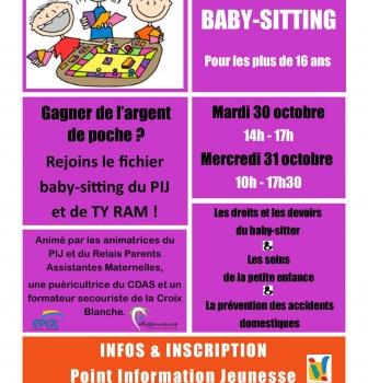 Atelier BABY-SITTING en co-animation avec Ty RAM de Pleyben