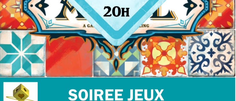 SOIRÉE JEUX : VENDREDI 27 AVRIL  20 HEURES – RUN AR PUNS