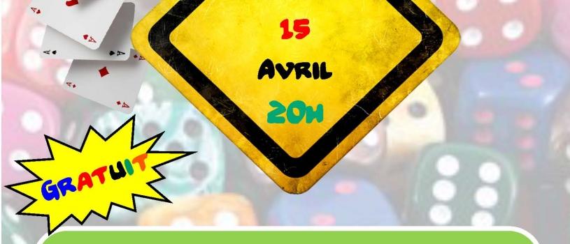 SOIREE JEUX AU RUN AR PUNS VENDREDI 15 AVRIL  2016