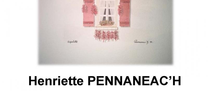 QUAI DES ARTS : EXPOSITION  D'HENRIETTE PENNANEAC'H DU 1ER DECEMBRE AU 11 JANVIER 2015
