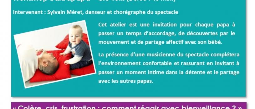 SEMAINES DE LA PETITE ENFANCE : PROGRAMME