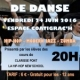 SPECTACLE DE DANSE VENDREDI 24 JUIN A 20H ESPACE COATIGRACH