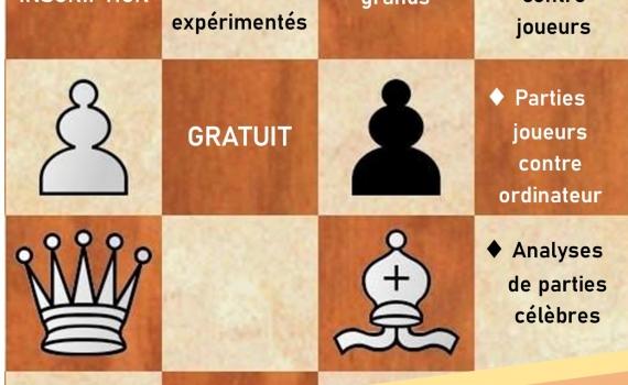 Venez jouer aux échecs