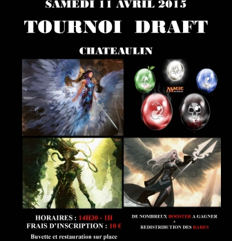 TOURNOI MAGIC DRAFT !!!