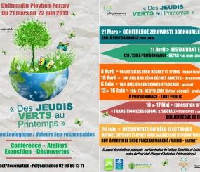 «DES JEUDIS VERTS AU PRINTEMPS» : CONFÉRENCES – ATELIERS – EXPOSITIONS – DÉCOUVERTE…..