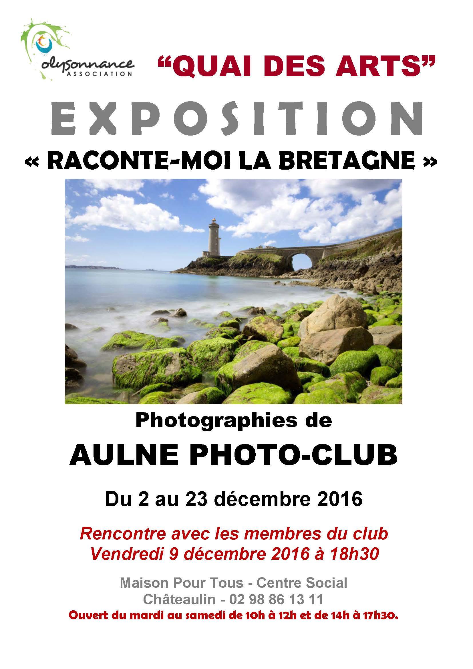 QUAI DES ARTS : RENCONTRE D'ARTISTES VENDREDI 9 DÉCEMBRE 18H30 A LA MPT