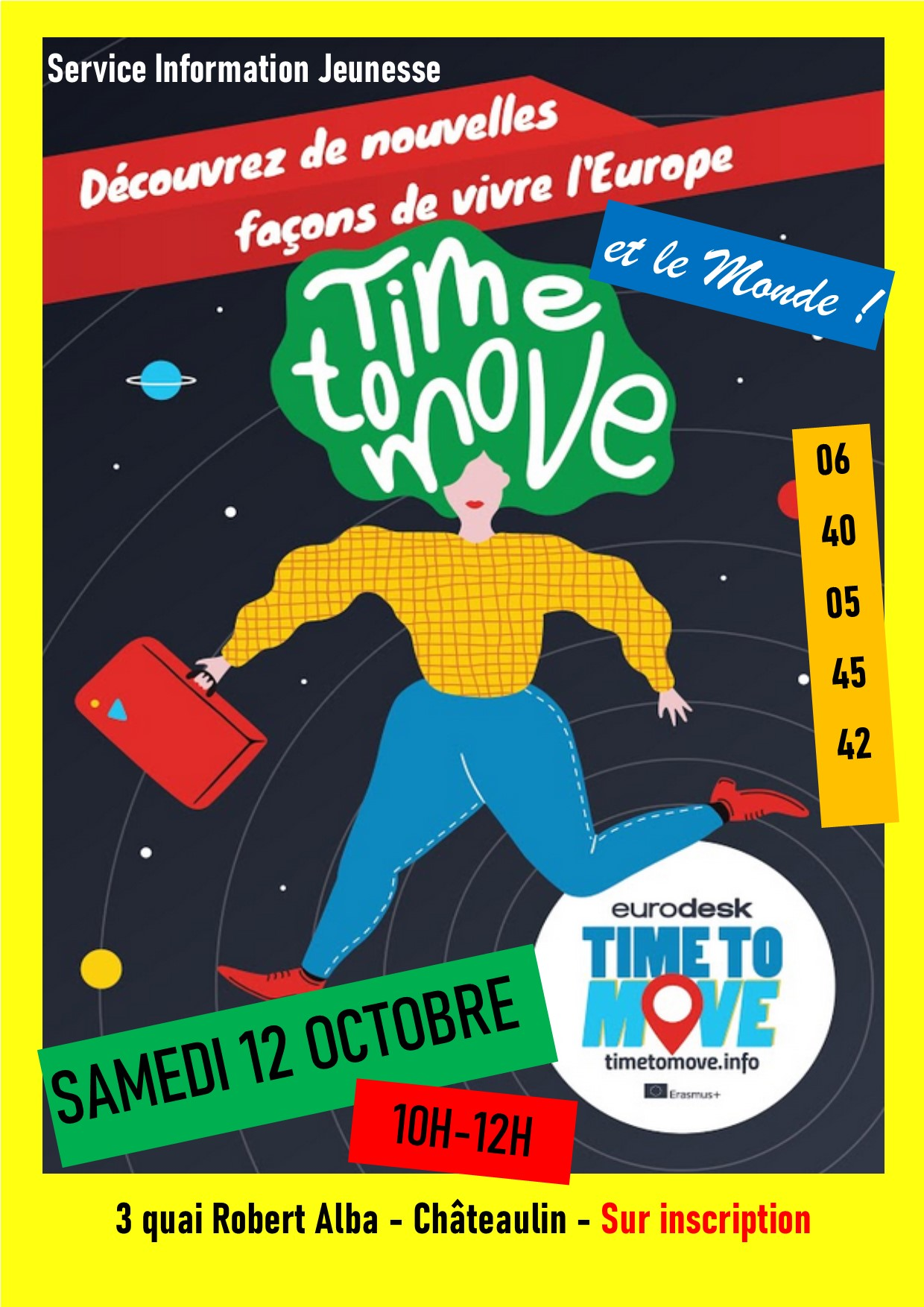 Atelier Time to Move !